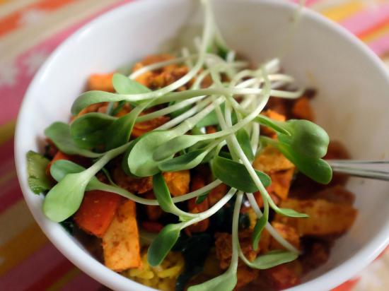 Healthy food - sprouting with Gate To Wellness