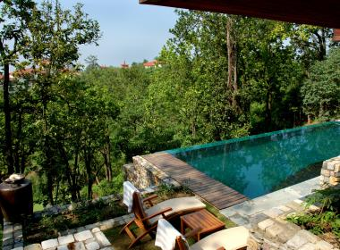 Ayurveda in India, wellness, yoga and meditation on the foothills of the Himalayas